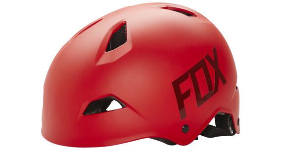 Fox Flight Hjälm röd